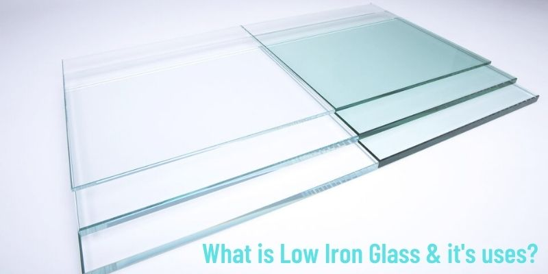 Low iron glass and its uses